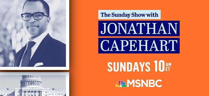 The Sunday Show with Jonathan Capehart – 3/7/21 | MSNBC – 11AM